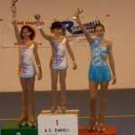 Ilaria Aureli: 3° class. ai Campionati Prov.li uisp 2013 cat. Allievi Uisp