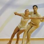 Arianna di Damiano e Alessandro Fratalocchi - Argento agli Europei 2010