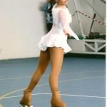 Angelica Giorgini mentre interpreta le musiche del Gladiatore