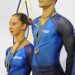 Ariannna di Damiano e Alessandro Fratalocchi - Atleti della Nazionale Italiana - Vice Campioni Europei 2008-2009-2010