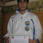 De Renzis Edoardo premiato a Pollenza dal Comitato Reg.le F.I.H.P. per i risultati sportivi dell'anno 2010.