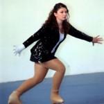 Giorgia Camilla Liberati durante l'esecuzione di alcuni passi del suo Long Program.