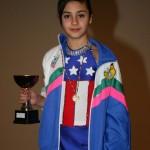 Benedetta Goglia ha partecipato ai Campionati Nazionali 2010 nella specialità Formula