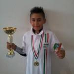 Kevin Bovara - 1° Classificato ai Campionati Italiani Uisp 2015