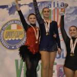 Martina Foschi - Campionessa Prov.le FIHP 2012 di Obbligatori, Libero e Combinata