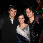 il tenore argentino con Andrea Aracu e Debora Sbei web