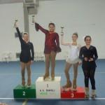 Giulia Ciotti: 3° Class. ai Campionati Prov.li Uisp del 26 febbraio 2012