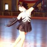 Interpretazione artistica: Nella foto Giorgia mentre interpreta il Lago dei Cigni.