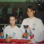 Michele Fratalocchi e Acquaroli Patrizia - Campioni Italiani U.I.S.P. 1999 specialità Coppia Artistico