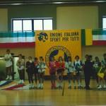 La cerimonia di premiazione dei Campionati Italiani U.I.S.P. di Livello