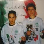 Stefano Pierantozzi e Jonni Chantal - Campioni Italiani 1999 sia F.I.H.P. che U.I.S.P. specialità Coppia Artistico