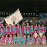 il primo gruppo della Diavoli Verde Rosa