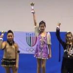 Alessia Giantomassi Campionessa Prov.le FIHP 2011 sia negli esercizi obbligatori che negli esercizi liberi.