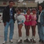 Dalla sinistra: Ivan, Romina, Pamela, Francesca e Silvia