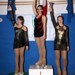 Ilaria Spinozzi (2° class.) e Francesca Ferrucci (3° class.) ai Camp. Prov.li Uisp 2011 cat. Juniores Uisp