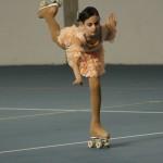 Irene Cappella durante la serie di bilanciati in angelo ai Campionati Prov.li F.I.H.P. 2011