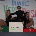 Dana, Florinda e Benedetta dopo la gara