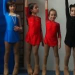 alcuni atleti gli della categoria giovanissimi femminile