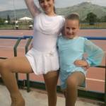 Angelica (prima) e Vittoria (sesta) ai Campionati Regionali Uisp 2011