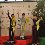 Alex De Piazzi - argento nel libero e negli obbligatori al Trofeo Nazionale di Pordenone 2012