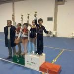 Alba e Kevin - 1° class. ai Campionati Prov.li Uisp 2012
