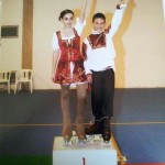 Irene Cappella - Alex De Piazzi Campioni Prov.li Uisp e Fihp 2012