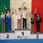 Podio Campionati Italiani - terzi Alba e Kevin