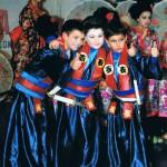 I samurai: Alex, Vincenzo e Kevin