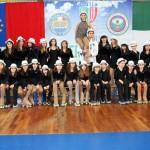 Gli atleti della Diavoli Verde Rosa al decimo Festival Internaz.le