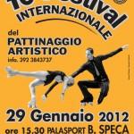 """Il manifesto del """"10° Festival Internaz.le del Pattinaggio Artistico"""""""