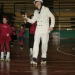Ivan vestito da mafioso anima l'allenamento di Carnevale...
