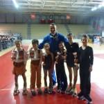 Ivan con le tre coppie medagliate ai Campionati Regionali Fihp 2012