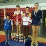 Martina, Irene e Alex - Campioni Regionali Uisp 2012