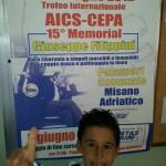 Kevin al Trofeo Internazionale di Misano Adriatico
