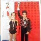 Alba e Kevin - 3° class. ai Campionati Italiani Uisp 2012 Coppia Artistico Novizi