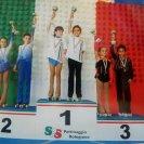 Kevin e Alba - bronzo ai Campionati Italiani Uisp 2012 cat. Coppie Art. Novizi