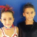 Alba Marconi e Kevin Bovara ai Campionati Italiani Aics 2012