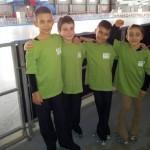 La squadra di S.Benedetto al Trofeo delle Città 2012