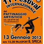 manifesto dell'11° Festival del Pattinaggio