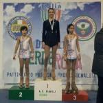 Ilaria Aureli - Oro negli esercizi Obbligatori