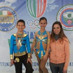 Laura con Alex e Ilaria (2° class. ai Campionati Regionali Fihp 2013)