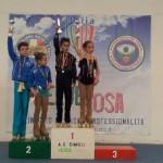 ALBA MARCONI E KEVIN BOVARA - Campioni Regionali Cat. Giovanissimi Coppie Artistico