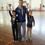 Kevin e Alba con Ivan