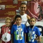 Il Faraone con gli schiavi medagliati ai Campionati Nazionali Aics 2013