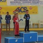 Nicolò Paci - 2° Class. cat. Pregiovanissimi 2006 maschile - Campionati Naz.li Aics 2013