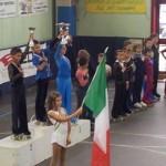 Kevin Bovara - argento ai Campionati Nazionali Uisp 2014