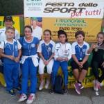Atleti della Diavoli Verde Rosa - Senigallia - 1° Memorial Internazionale Enzo Tesei