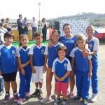 Atleti della Diavoli Verde Rosa che hanno preso parte al trofeo