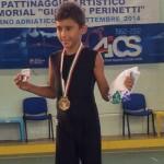 Kevin Bovara - oro ai Campionati Italiani Aics 2014