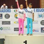 Alba e Kevin - vincitori del Trofeo delle Regioni 2014